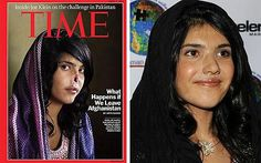 Aisha, 19, appeared on Time magazine without a nose. At 12 years old she was married to a Taliban fighter by her father as repayment for a debt. She was caught trying to escape, and her ears and nose were cut off, by her husband, as punishment. She crawled to her grandfather's house and was taken to an US medical facility in Kabul. She was eventually flown to the US, where she stayed with an American family. She has had a prosthetic nose fitted, with the hope that they might rebuild her ...