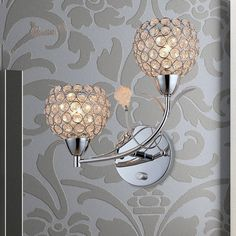 Cheap light bulbs for touch lamps, Buy Quality light pocket lamp directly from China light well Suppliers:  contemporary brief LED crystal wall lamp sliver or gold color home decorative bedside lamp light fixture free shipping