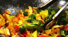 brocoli y calabaza