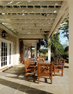 White patio shade