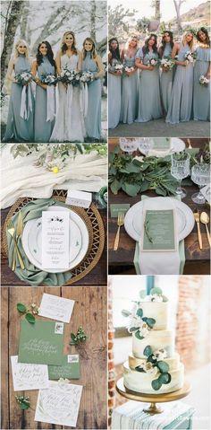 30 Silver Sage Green Wedding Color Ideas for 2019 silver sage greenery wedding color ideas Wedding Themes, Budget Wedding, Wedding Tips, Wedding Table, Fall Wedding, Wedding Events, Our Wedding, Destination Wedding, Dream Wedding