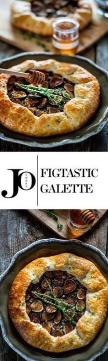 Figtastic Galette - Figtastic Galette - this rustic galette with...  Figtastic Galette - Figtastic Galette - this rustic galette with its flaky crust that just melts in your mouth loaded with leeks goat cheese figs and drizzled with honey will surely get your taste buds dancing. Recipe : http://ift.tt/1hGiZgA And @ItsNutella  http://ift.tt/2v8iUYW