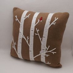 birch trees!