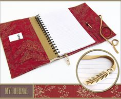 Fabric Journal Cover | Sew4Home