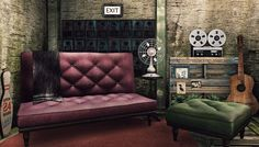 Second Life Snapshots: Sunday clears away the rust of the whole week. Sofa, Couch, Second Life, Decorative Items, Rust, Love Seat, Sunday, Furniture, Home Decor