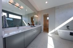 Amazing master bath and so much storage space!