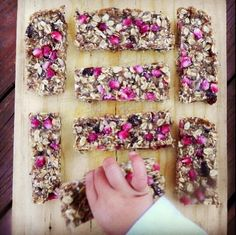 Raw Granola Bars | Realize Yourself - Kimberly Snyder's Community