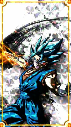 Dragon Ball Z, Dragon Ball Image, Super Saiyan Blue Vegito, Manga Anime, Anime Art, Gogeta And Vegito, Z Wallpaper, Ball Drawing, Dragon Warrior
