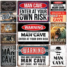 Bus Retro Vintage Metal Tin Signs Poster Man Cave Plaques Plates Club Wall Decor