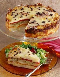 Recipe: Potato Torta - Inn at Occidental - Sonoma Wine ... |Potato Torta