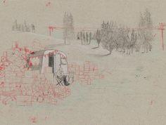 Development work by Kaatje Vermeire – from 'Japie de Stapelaar / Jack the Stacker' (written by Bas Rompa)