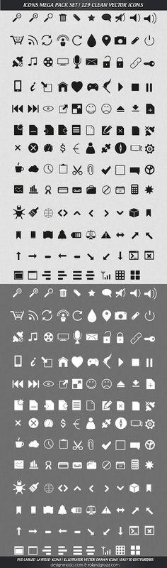 Puedes encontrar una selección de iconos para utilizar en aplicaciones, webs, interfaces,… Casi todos los iconos son...