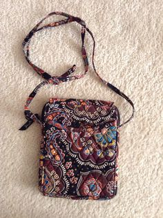 Vera Bradley Crossbody  Mini Hipster pattern Kensington purse bag on Etsy, $35.00
