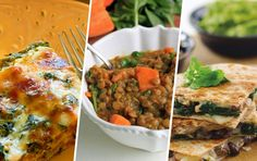 High-protein and meat-free? Nope, those aren't oxymorons. Vegetarian dishes can be hearty, wholesome and just as high in protein as those that contain meat. These balanced meals with nutrient-dense foods like whole grains, legumes and veggies will keep you full and satisfied. These recipes are jam packed with 15–30 grams of protein per serving and …