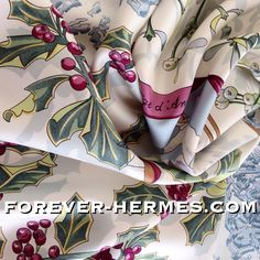 Snow then? In store! http://forever-hermes.com #ForeverHermes this always sold out winter ski snow Hermes Paris silk scarf designed by Cathy Latham and titled Neige d'Antan featuring stunning glassy #snowflakes and a #retro fashioned #skijumping pair in #christmas decor #mistletoe #holly with berries. #womenswear #womensfashion #HermesParis #hermescarre #dapper #gentleman #MensSuit #MensWear #menstyle #Hermes