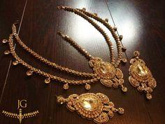 Antique Mathapatti Set GOLD