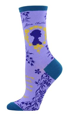 Our Jane Austen Socks are for the woman who loves Jane Austen, who has read the books, seen the movies and feel a bond with the women Jane Austen created.