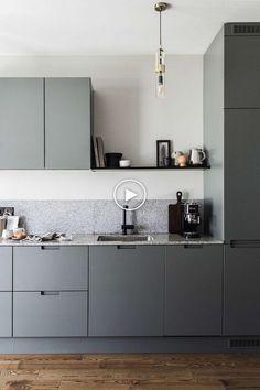 54 modern kitchen design ideas and kitchen cabinets 2019 43 - Küchenmöbel Modern Kitchen Design, Interior Design Kitchen, Home Design Decor, Home Decor, Design Ideas, Kitchen Designs, Diy Interior, Modern Design, Asian Interior