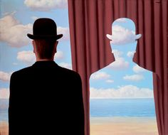 René Magritte | Decalcomania 1966  