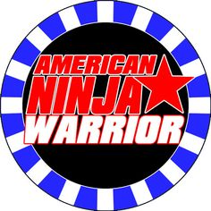 American Ninja Warrior Party Cupcake Toppers by rbcreation on Etsy