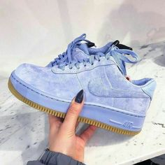 on - Sneakers Nike - Ideas of Sneakers Nike - Adidas Women Shoes Sneakers women Nike Air Force 1 Upstep blue (broganwest) We reveal the news in sneakers for spring summer 2017 Cute Shoes, Me Too Shoes, Women's Shoes, Shoes Sneakers, Roshe Shoes, Sneakers Adidas, Grey Sneakers, Adidas Nmd, Fall Shoes