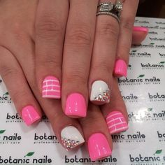 This is cute, i may like it without all nails different