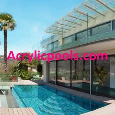 we design a variety of #swimmingpoolwindows that offer spectacular views into your swimming pool.  Here at-  AcrylicPools.com