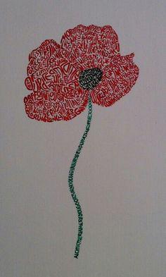 Poppy of words