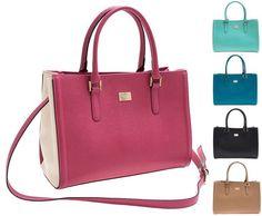 Women s Square Totes Handbags Contrast Faux Leather Purses Cute Cross Body  LD406  Unbranded  TotesShoppers. Hi Korean Fashion a62e096e85691