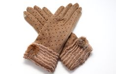 Cashmere Touch Screen Gloves beautiful clothes #fashion