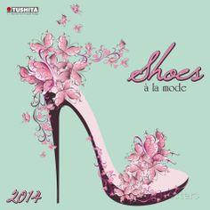 Shoes de la Mode - 2014 Calendar Calendarios en AllPosters.es