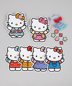 HK |❣| HELLO KITTY Stitch & Sew Lacing Cards