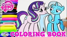 My Little Pony Coloring Book Starlight Glimmer Trixie Lulamoon Surprise ...