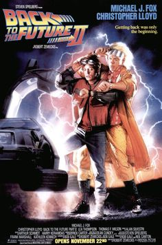 1989 - Back to the Future Part II - After visiting 2015, Marty McFly must repeat his visit to 1955 to prevent disastrous changes to 1985... without interfering with his first trip. #movies バックトゥーザフューチャー2