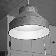 Homemade Light Fixture for a Rustic Kitchen - Do It Yourself Projects - Capper's Farmer