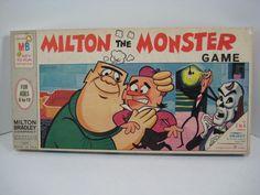Milton the Monster Game. Milton Bradley,1966