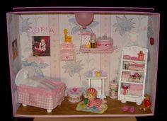 Piccola roombox per neonata.