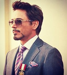 Watched both Ironman movies last night while I cleaned. LOVE IT! :D First time I've watched completely through them.