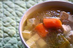 Almost Japanese Soup Vegan
