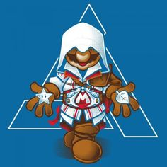 Mario meets Assassins Creed T-Shirt