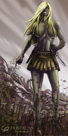 Jaghut: Huntress by ~Shadaan on deviantART