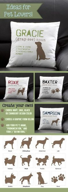 Cushion Cover Cat&dog Letter Pillow Case Xmas Linen Cotton Soft Cute Throw Pillow Case Merry Christmas New Year Sofa Home Decor Home Textile Cushion Cover