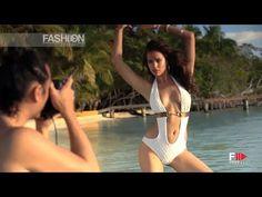 IRINA SHAYK for BEACH BUNNY SWIMWEAR Photoshoot Spring Summer 2014 HD by Fashion Channel - YouTube