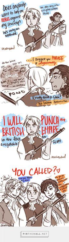 Historical Hetalia <<< Hahahahahaha Antonio in the last panel  and freaking France