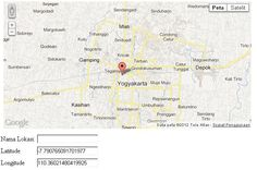 Location marker Google maps