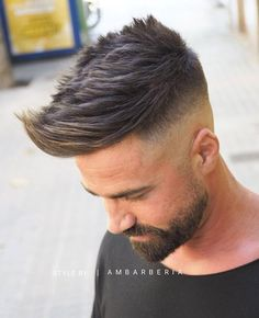 "5,895 Me gusta, 13 comentarios - Hair Mens Styles 2017 ✂️ (@hairmenstyles) en Instagram: ""Nice haircut or not ? Follow us @hairmenstyles for more! Double tap ❤️ if you like the hair…"""