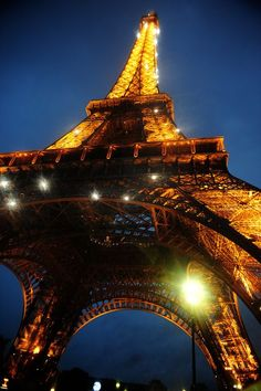 Eiffel Tower....I want to go back and go up in it!