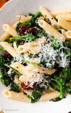 Pasta With Sausage, Broccoli Rabe, And Sundried Tomato Pesto Recipe ...
