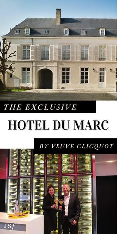 Formerly a private residence for the Veuve Clicquot family, Hôtel du Marc is located in downtown Reims, France. Since undergoing a multi–year renovation, preview this property's beautiful decor, plus amazing food and wine experiences, on The JetSetting Fashionista... Travel Around The World, Around The Worlds, Veuve Clicquot, French Wine, Beautiful Hotels, Best Cities, France Travel, Day Trip, Luxury Travel