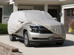 UV rays have a permanent effect on the paint and finish of a vehicle. Outdoor Custom-Fit Car Covers feature a Sunbrella® enhanced acrylic fiber material that helps prevent this damage. Volvo Xc60, Fit Car, Car Covers, Baby Strollers, Big Sizes, Vehicles, Fitness, Acrylic Fiber, Outdoor